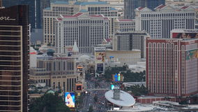 View of Las Vegas Strip from Stratosphere Stock Photos