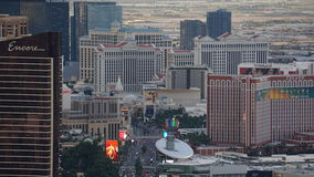 View of Las Vegas Strip from Stratosphere Royalty Free Stock Photography