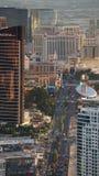 View of Las Vegas Strip from Stratosphere Stock Photos
