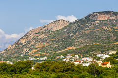 View of Lasithi Plateau on Crete Stock Images