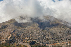 View of Lasithi Plateau on Crete island Stock Images