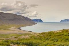 View on Latrabjarg - Iceland Stock Image
