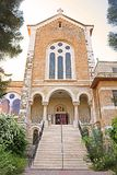 View of Latrun Trappist Monastery in Israel Royalty Free Stock Photos