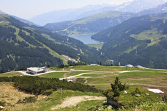 View from the Latschenalm, Austria Royalty Free Stock Image