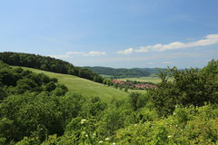 View On Lauchroeden In Thuringia Stock Images