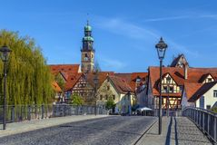 View of Lauf an der Pegnitz, Germany Royalty Free Stock Images