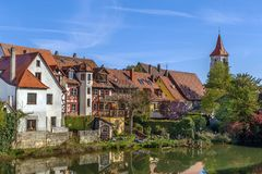 View of Lauf an der Pegnitz, Germany Royalty Free Stock Photography