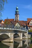 View of Lauf an der Pegnitz, Germany Royalty Free Stock Image