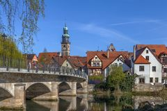 View of Lauf an der Pegnitz, Germany Stock Images