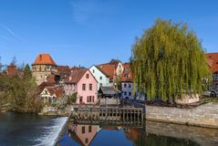 View of Lauf an der Pegnitz, Germany Royalty Free Stock Photo
