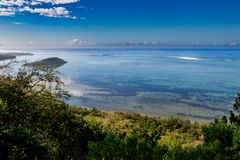 View from Le Morne Brabant Royalty Free Stock Photos