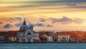 View of Le Zitelle Santa Maria della Presentazione church on Giudecca island in Venice, Italy.  royalty free stock image