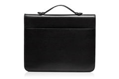 View of a leather suitcase Royalty Free Stock Photo