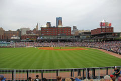 The View from Left Field at CHS Field Stock Photos