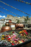 View of Leh. Ladakh, India Royalty Free Stock Photos