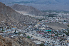 View of Leh city Royalty Free Stock Image