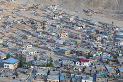 View of Leh city Stock Images