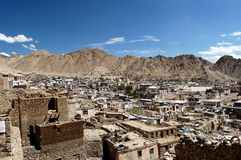 View on Leh (Ladakh) Stock Images