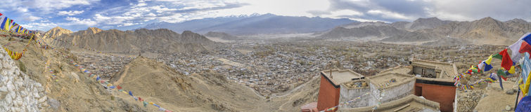 View from Leh monastery Royalty Free Stock Photo