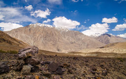 View of Leh Valley Stock Image