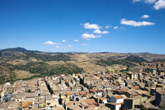 View of Leonforte Stock Images