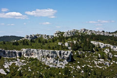 The View from Les Baux Royalty Free Stock Images