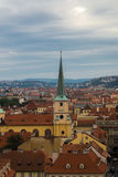 View of Lesser Town from Hradcany Stock Photos