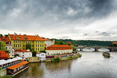 View of the Lesser Town (Little Quarter) in Prague, Czech Republ Stock Photo