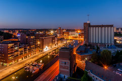 View on Leuven, Belgium Stock Images