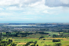 View Of Levin. A View of the town of Levin in New Zealand Stock Photos