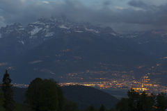 View from Leysin Royalty Free Stock Photo