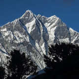 View of the Lhotse Royalty Free Stock Image