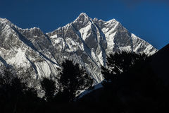 View of the Lhotse Stock Images