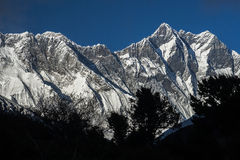 View of the Lhotse Stock Photography