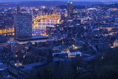 View on Liege in Belgium Stock Images