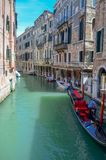 Beautiful canal in Venice royalty free stock photography