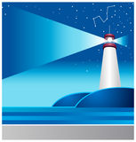 The view of Lighthouse Royalty Free Stock Images