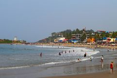 View of the Lighthouse beach in Kovalam Royalty Free Stock Images