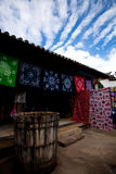 View of lijiang 4 - a dyehouse Stock Image