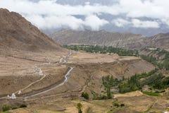 View from Likir monastery, India Stock Photos