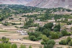 View from Likir monastery, Ladakh, India Stock Photo