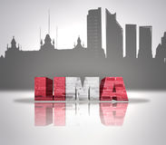View of Lima Royalty Free Stock Photography