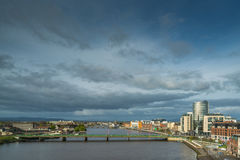 View of Limerick city Royalty Free Stock Photography
