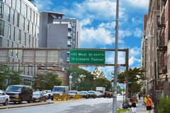 View of lincoln tunnel Royalty Free Stock Images
