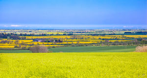 View from lincolnshire wolds Royalty Free Stock Photo