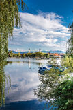 View of Lindau City-Bodensee,Germany,Europe Royalty Free Stock Photos