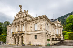 View at the Linderhof castle. In Germany Stock Photo