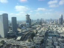 View line of tel aviv Stock Photography