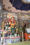 View of Linh Phuoc Pagoda Royalty Free Stock Photos