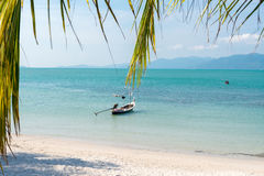 View of Lipanoi beach at Koh Samui island Thai Stock Images